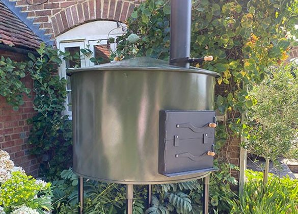 The Pro Woodfired Oven